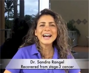 Dr.Sandra Rangel Cures Stage 3 Throat Cancer with Raw Food